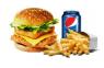 supreme burger  meal